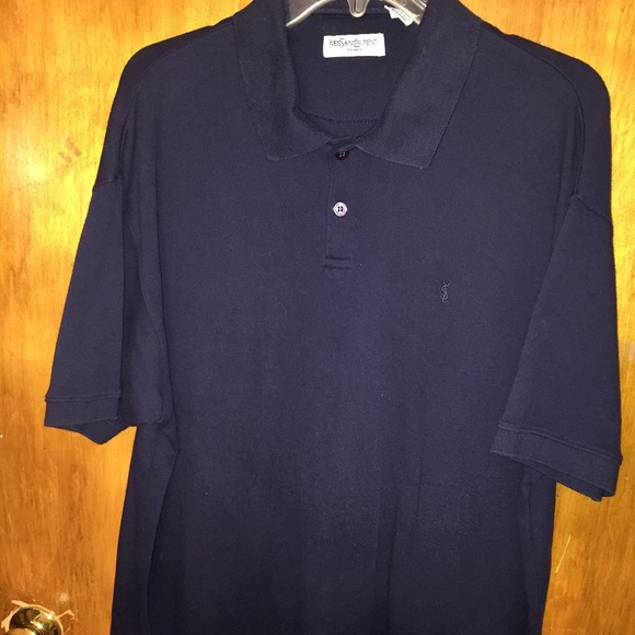 3779d5ce4c5 Yves Saint Laurent YSL Men's Polo Shirt - Large